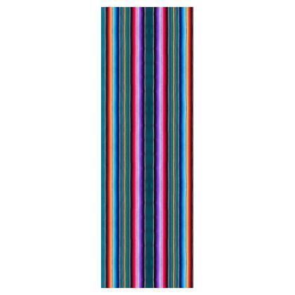 Deckchair – Serape-Print #3 Teal