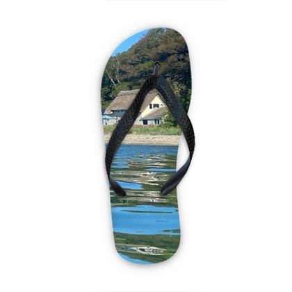 Pedn Billy Boathouse Flip Flops
