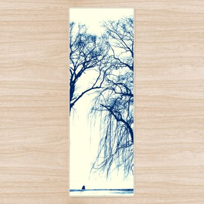 The BLUE TREES Yoga Mat