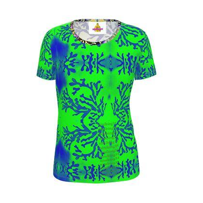 KORALLE. Ninibing34's Ladies slimfit Cut And Sew T Shirt
