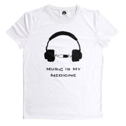 T Shirt - Music Is My Medicine