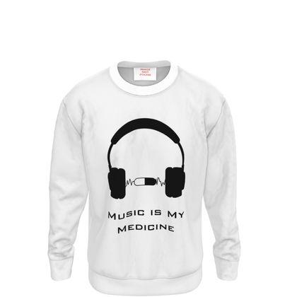 Sweatshirt - Music Is My Medicine