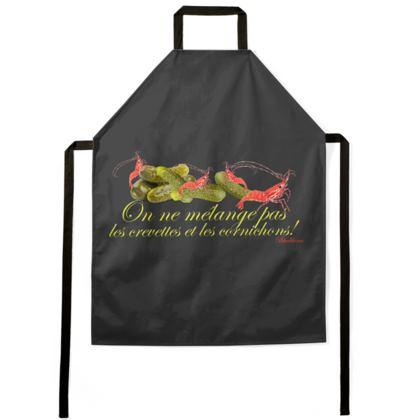 On ne mélange pas les crevettes et les cornichons