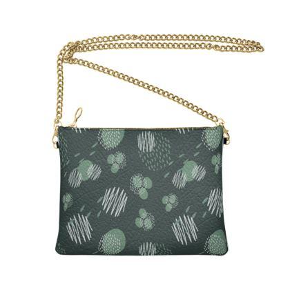 Crossbody Bag With Chain Pine Presence