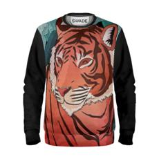 Sweatshirt - Tiger in the jungle