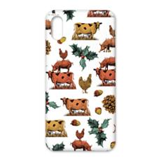 Holly leaves iPhone X Case