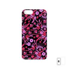 Coral Flora iPhone 6 Case