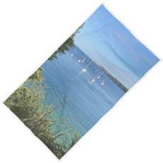 Summer on the Helford Beach Towel