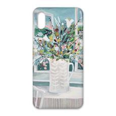iPhone X Case in Natalie Rymer Sea Breeze design