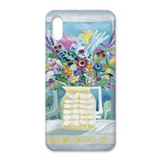 iPhone X Case in Natalie Rymer Attic Window design