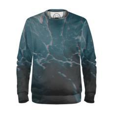 "Sweatshirt ""Marbled Ice"""