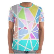 Triangular Printed T-shirt