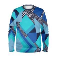 Geometric Printed Sweatshirt
