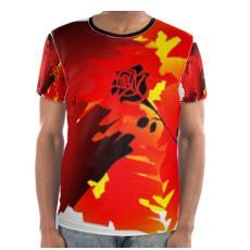 Trevieno Music Soul Fire  T Shirt