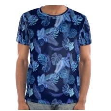 Blues Tropical T-shirt