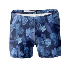 Blues Tropical Swimming Trunks