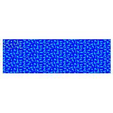 Stoff mit Windhundmotiv blau-türkis