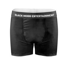 Black Mobb Entertainment Code Black  Boxers
