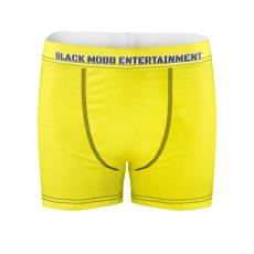 Black Mobb Entertainment Code Yellow Boxers