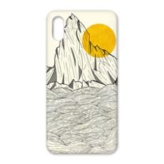 iPhone X Case - Sun cliffs
