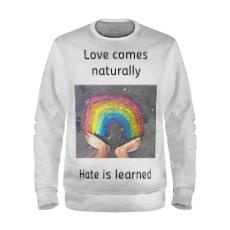 Loves Comes Naturally Pride 2018 Sweatshirt