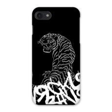 Tiger, Graffiti Printed iPhone 7 Case Designed by J S.