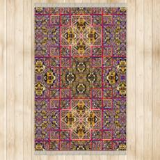 499,- ninibing34 seidenweicher DESIGNER Teppich MINERVA Bath violet