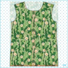 Cacti Camouflage Succulent Floral Pattern Womens Hooded Rain Mac