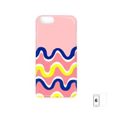 Hello There First Impressions iPhone 6/6 Plus Case in Pink Wiggle Print