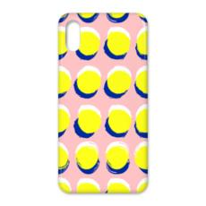Hello There First Impressions iPhone X Case in Yellow Spot