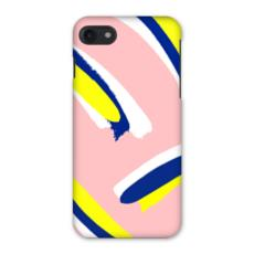 Hello There First Impressions iPhone 7 Case in Bold Strokes (Pink)
