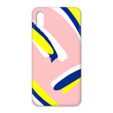 Hello There First Impressions iPhone X Case in Bold Strokes (Pink)