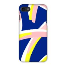 Hello There First Impressions iPhone 7 Case in Bold Strokes (Blue)