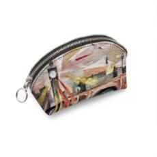 Designer Westminster Shell Coin Purse - Faux Leather Option