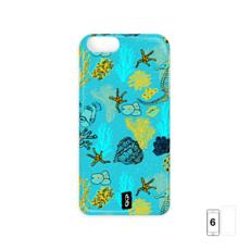 Sea Life in Teal iPhone 6 Case