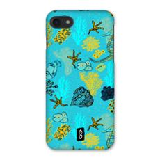 Sea Life in Teal iPhone 7 Case
