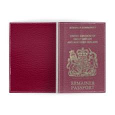 Remainer Passport Cover