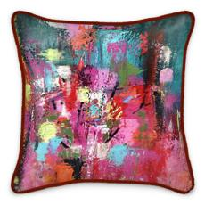 Into the Woods Silk Cushion