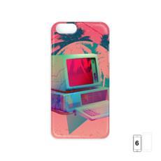 Neon Palm Tree iPhone 6 Case