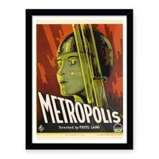 Metropolis Vintage Movie Art Print