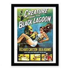 Creature From The Black Lagoon Premium Art Print