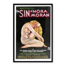 "Vintage Movie ""The Sin of Nora Moran"" Movie Art (Large)"