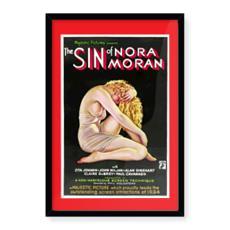 "Vintage Movie ""The Sin of Nora Moran"" Movie Art"