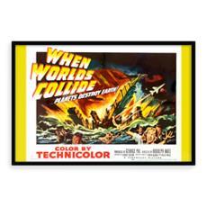Vintage 'B' Grade Movie Poster - When Worlds Collide