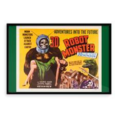 Robot Monster Vintage 'B' Movie Art Print