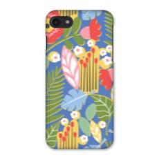 Paradise House Tropical Floral Blue iPhone 7 Case