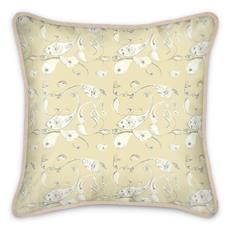 PaisleyVanilla Silk Cushion