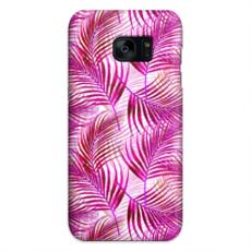 Tropical Garden Collection in Magenta Samsung S7 Edge