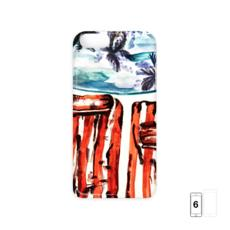 By the Pool Watercolour iPhone 6 Case