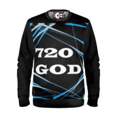 720GOD Blue Sweatshirt